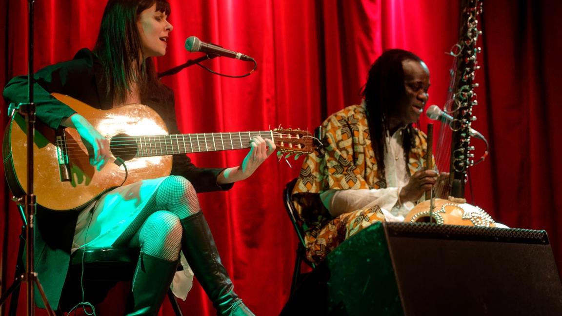 Kora Flamenca (en formule duo) en spectacle au CRAPO (pour un public de zones jaunes et oranges seulement)