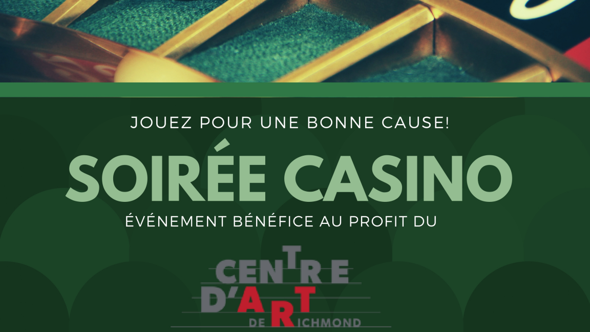 Soirée casino au Centre d'art de Richmond