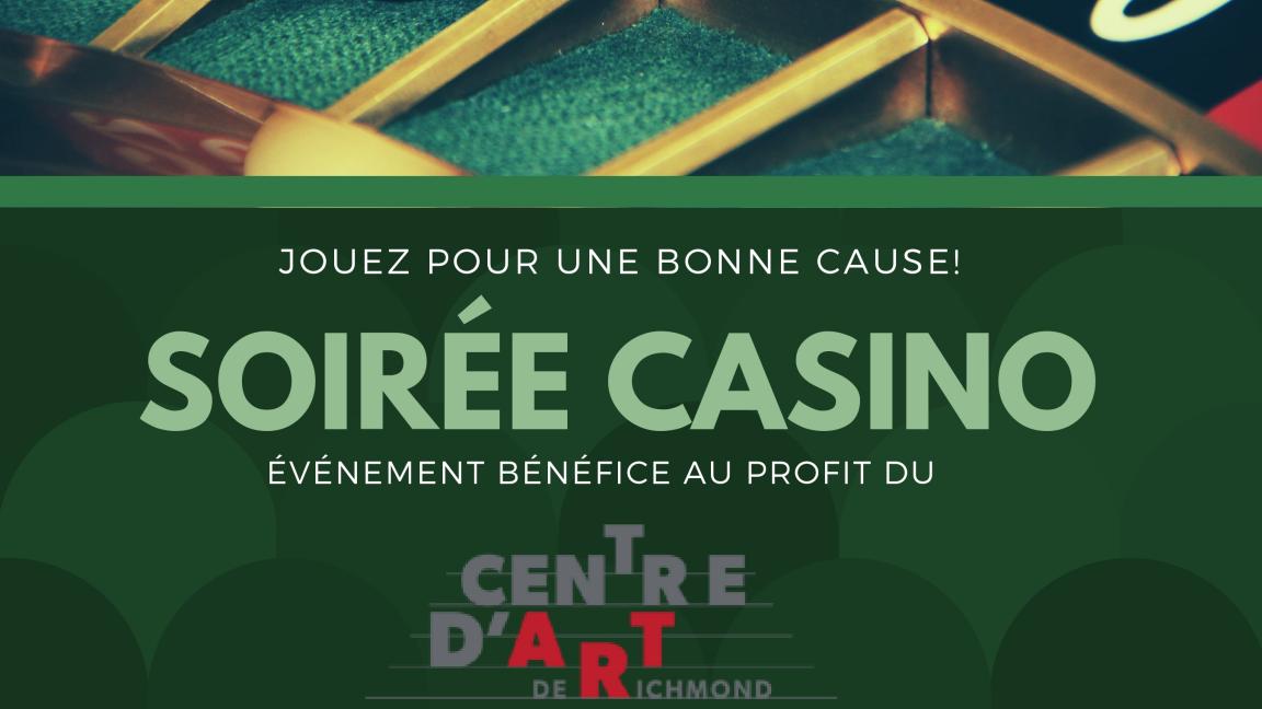 Soirée casino au Centre d'art de Richmond