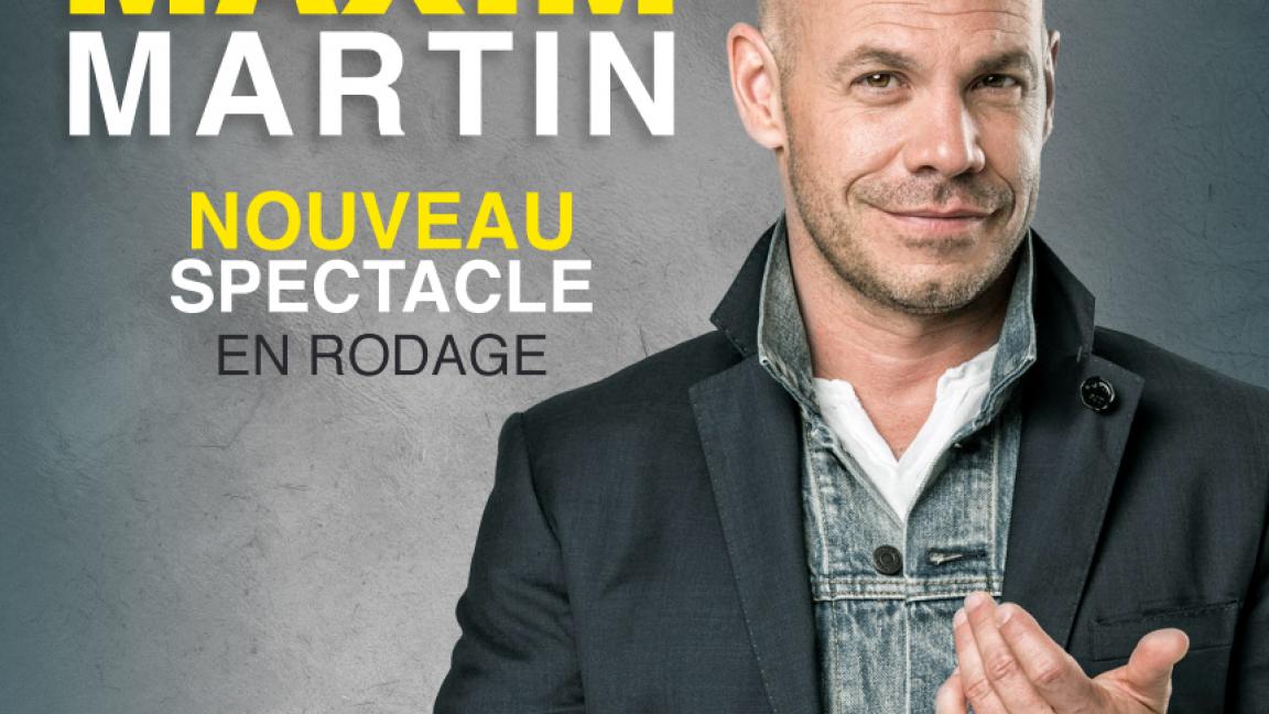 Maxim Martin - En rodage