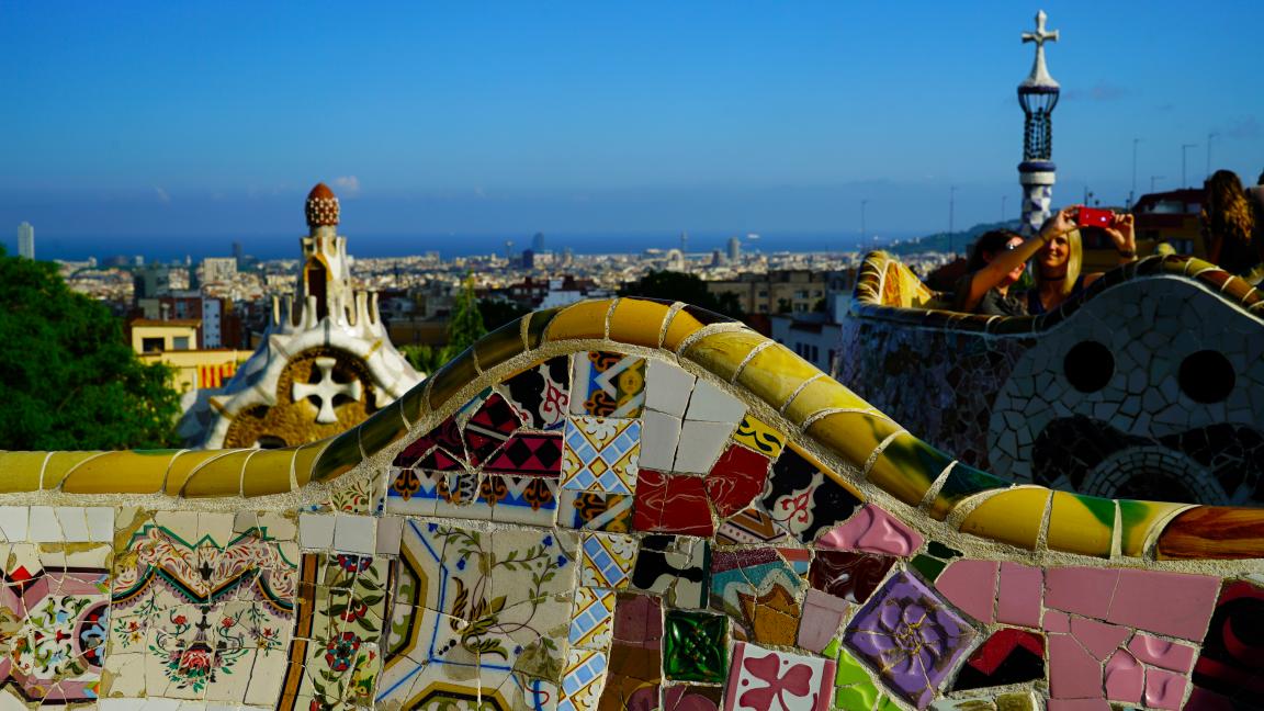 Les aventuriers voyageurs - Barcelone et Catalogne en humour