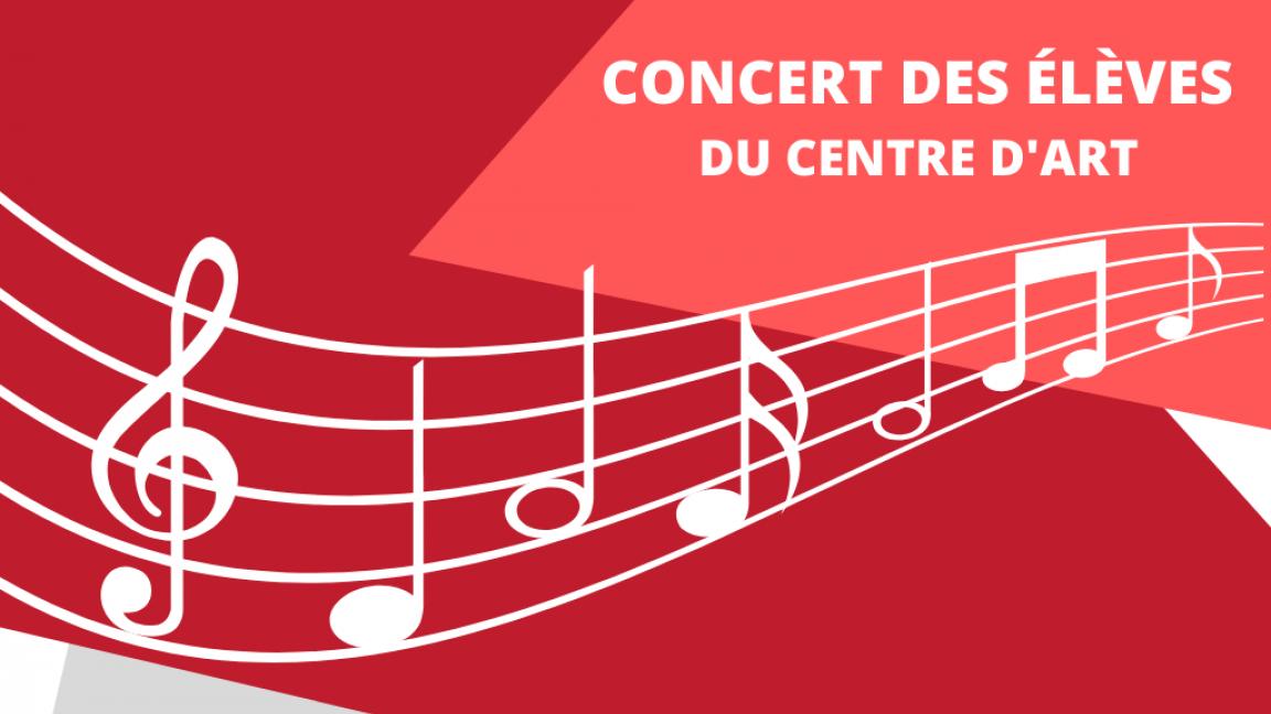 Concert de fin d'année des élèves de musique du Centre d'art de Richmond