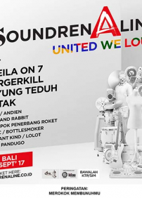 Soundrenaline presents Soundrenaline 2017: JET –  – Garuda Wisnu Kencana, Badung
