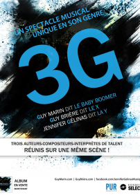 Un spectacle musical unique en son genre 3G