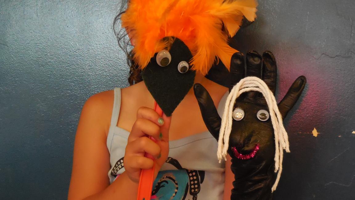Atelier de fabrication de marionnettes (6-11 ans)