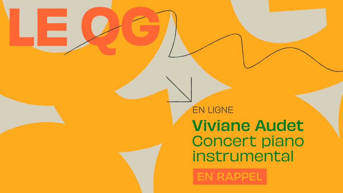 EN RAPPEL - VIVIANE AUDET - concert piano instrumental