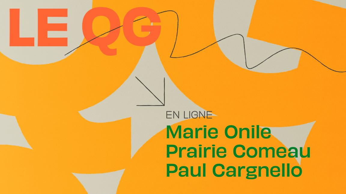 MARIE ONILE + PRAIRIE COMEAU + PAUL CARGNELLO