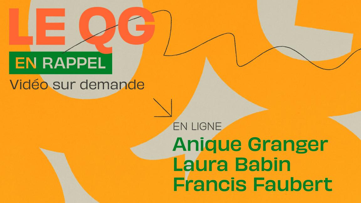 [QG01] Anique Granger + Laura Babin + Francis Faubert