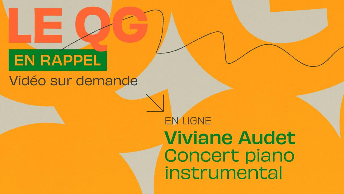 [QG03] Viviane Audet - concert piano instrumental