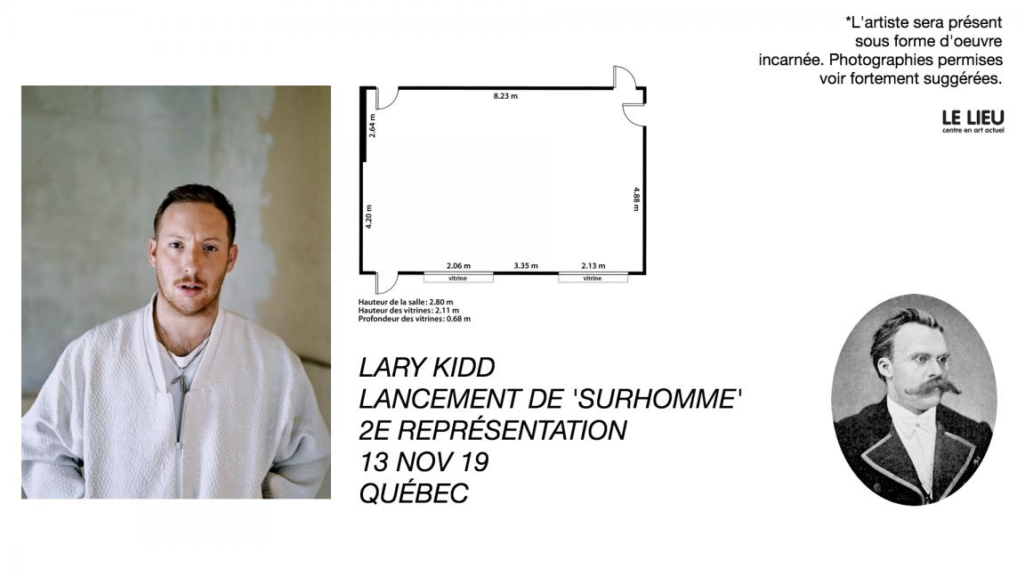 """Lancement de """"Surhomme"""""""