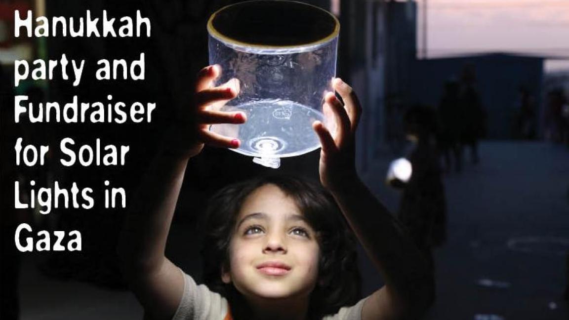 Fête Hanukkah pour Gaza