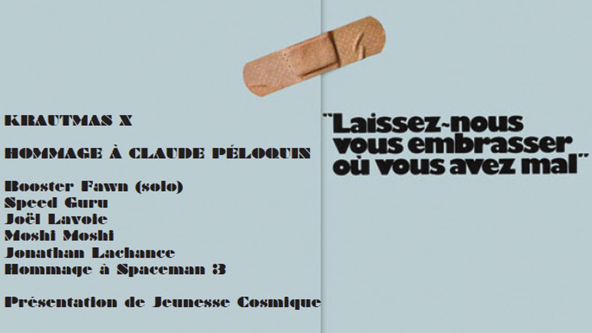 KRAUTMAS X Hommage à Claude Péloquin