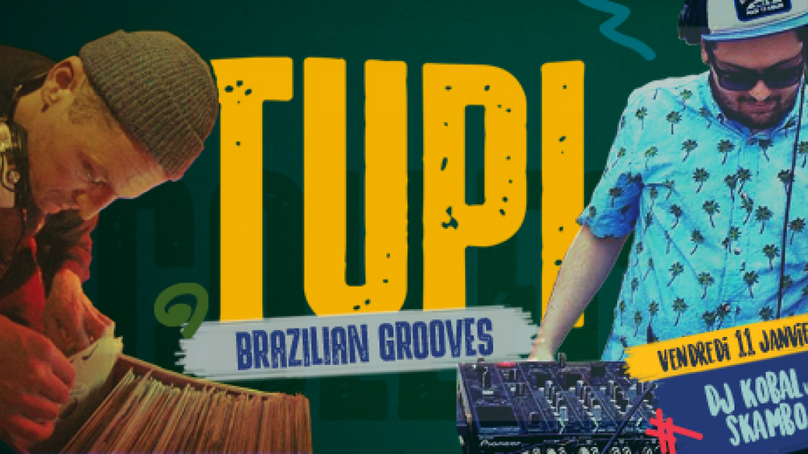 Tupi Collective Party | Tropical Clash - Dj Kobal Vs Dj Skambo