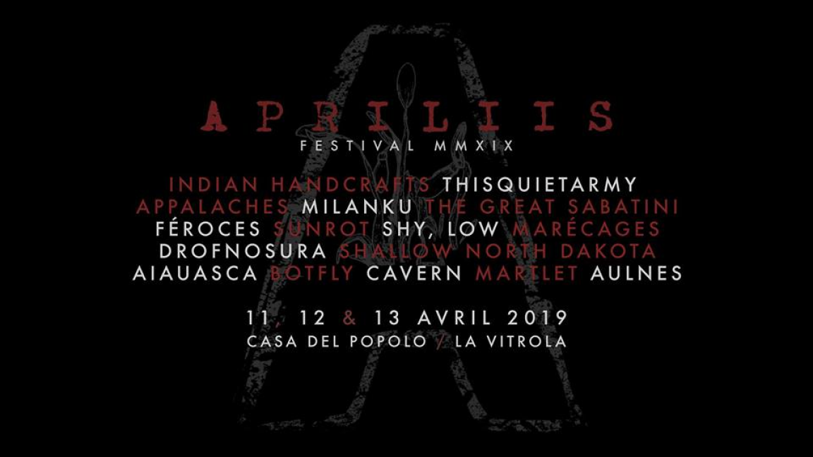 Apriliis Fest MMXIX - April 11 / 12 / 13 - Passe 3 jours