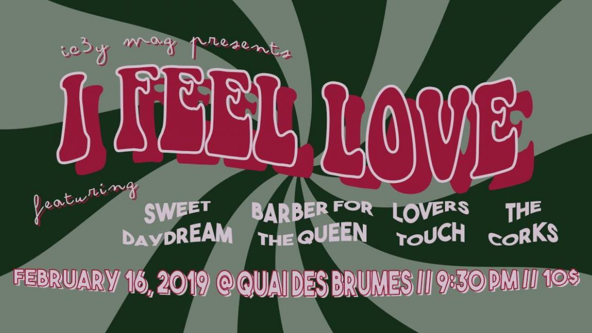 I FEEL LOVE: Lovers Touch/Barber For The Queen/Sweet Daydream