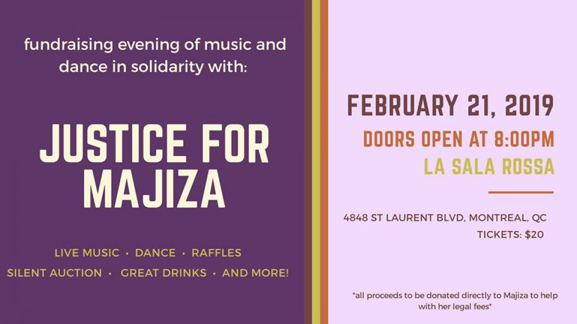 Justice For Majiza - Fundraiser Event