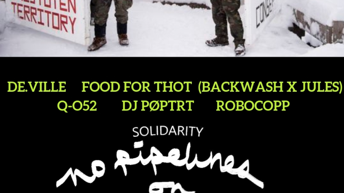 Solidarité avec Wet'suwet'en; Hip hop dance party