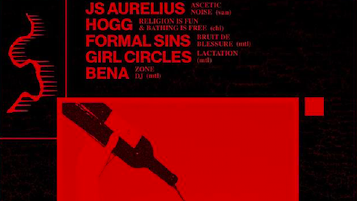 Interzone: JS Aurelius, HOGG, Formal Sins, Girl Circles