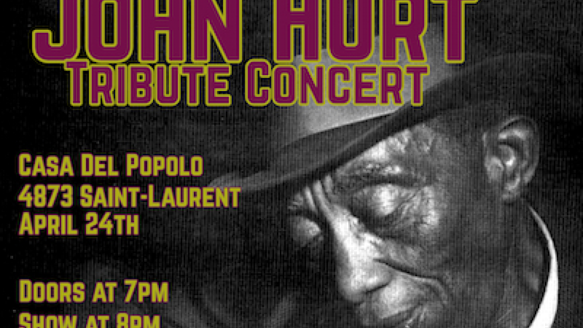 Mississippi John Hurt Tribute Concert