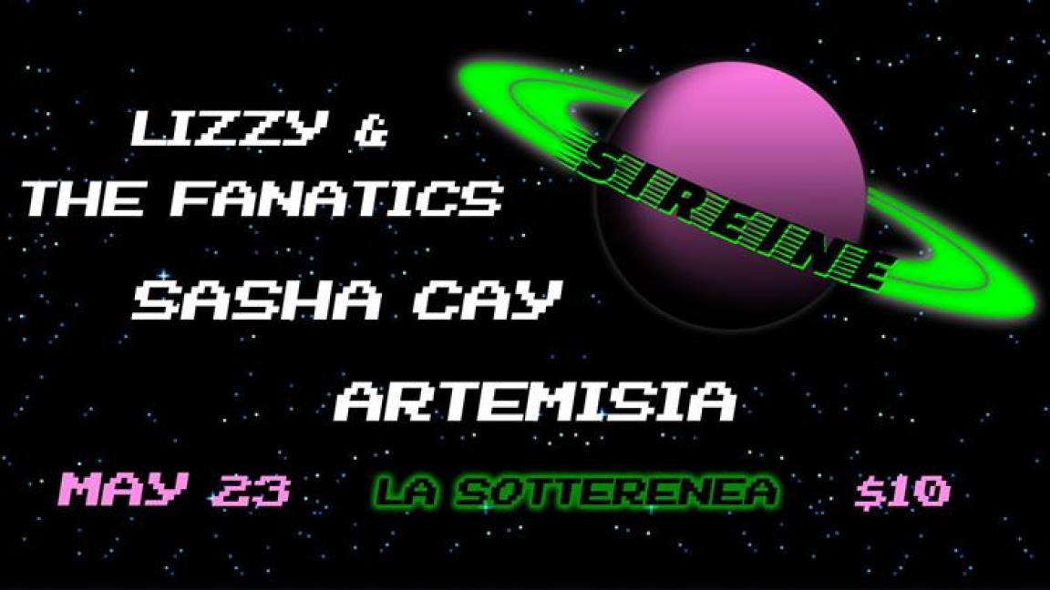 Lizzy & the Fanatics ~ Sasha Cay ~ Artemisia