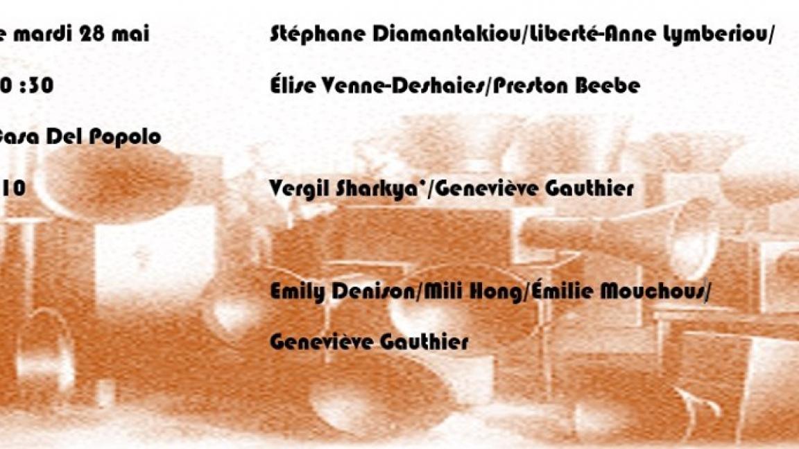 Diamantakiou/Lymberiou/Venne-Deshaies/Beebe, Duo VéGé et #mefour