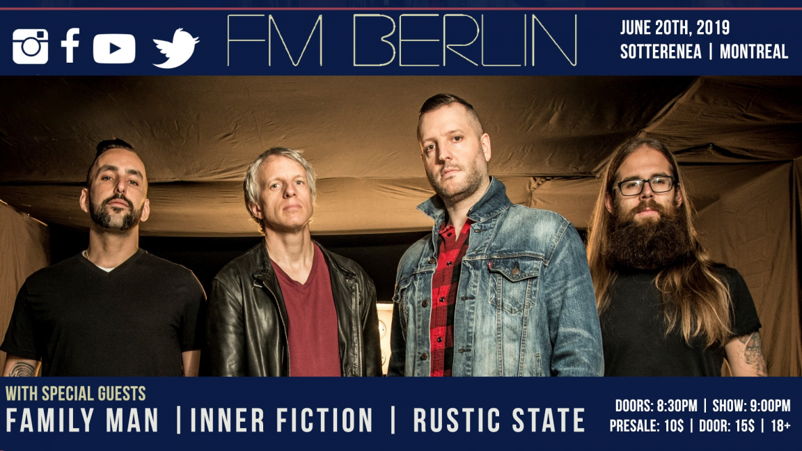 FM Berlin, Family Man, Inner Fiction, Rustic State