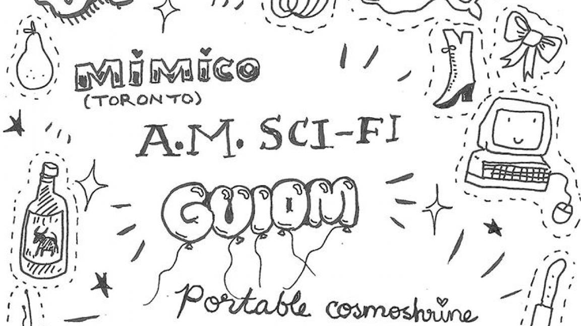 Mimico · A.M. Sci-fi · Guiom · Portable Cosmoshrine