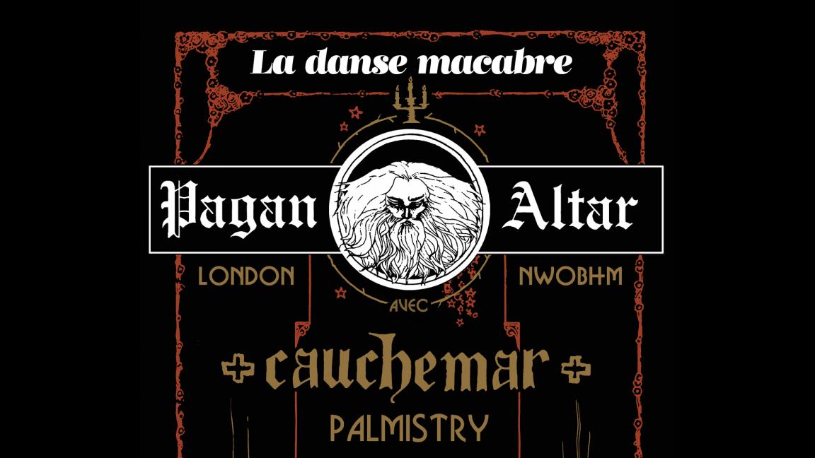 Pagan Altar · Cauchemar · Palmistry