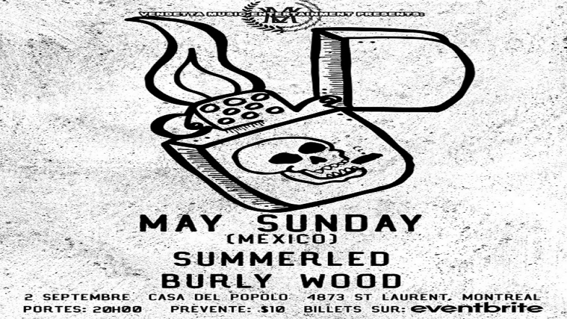 May Sunday (Mexico City), Summerled, & Burly Wood