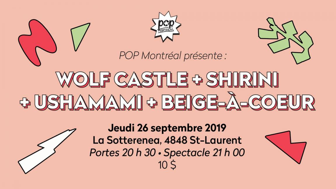 Wolf Castle • Shirini • Ushamami • Beige-À-Coeur