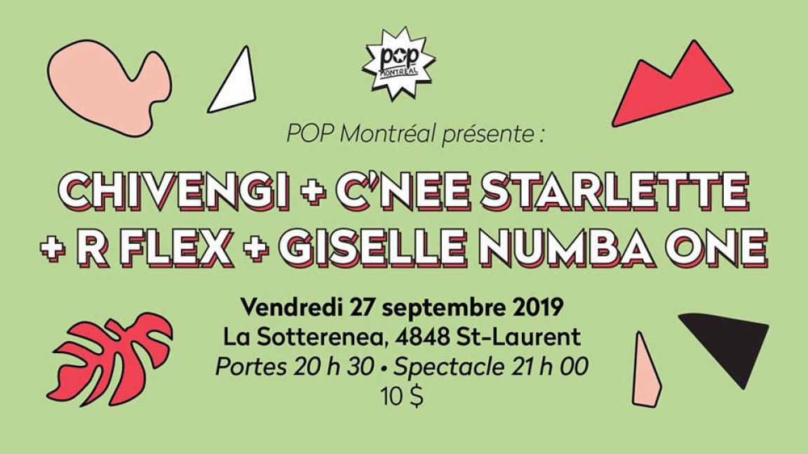 Chivengi • C'nee Starlette • R Flex • Giselle Numba 1