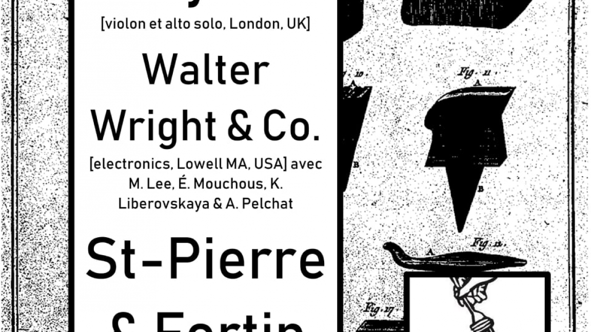 Mardi Spaghetti: Benedict Taylor / Walter Wright & Co. / Olivier St-Pierre & Émilie Fortin