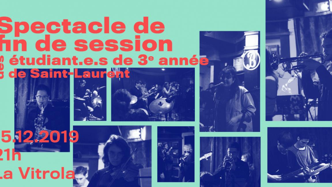 Les finissants en jazz du Cegep St-Laurent