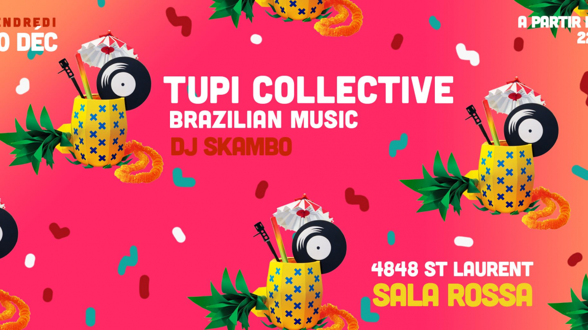 Tupi Collective Party: DJ Skambo