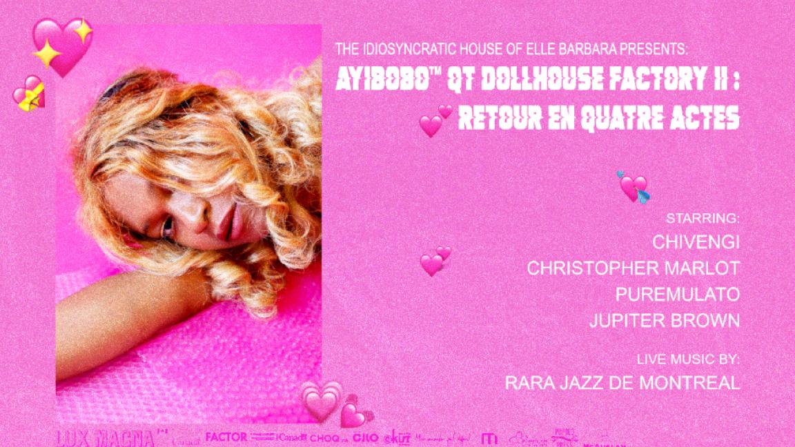 ☼ Ayibobo™ QT Dollhouse Factory II: Retour en quatre actes ☼