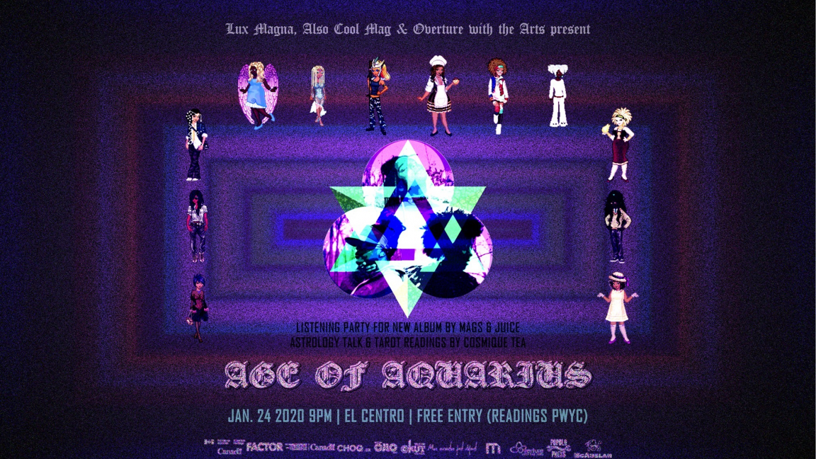 ☼ Age of Aquarius: An Aquastellar Experience • Cosmique Tea ☼
