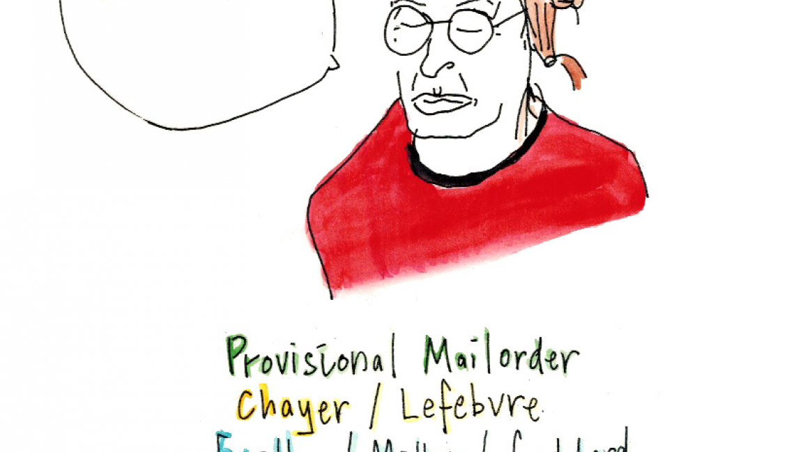 Provisional Mailorder, Chayer/Lefebvre, Eastley-Millar-Goddard