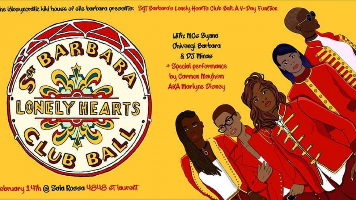 Sgt. Barbara's Lonely Hearts Club Ball: A Special V-Day Function