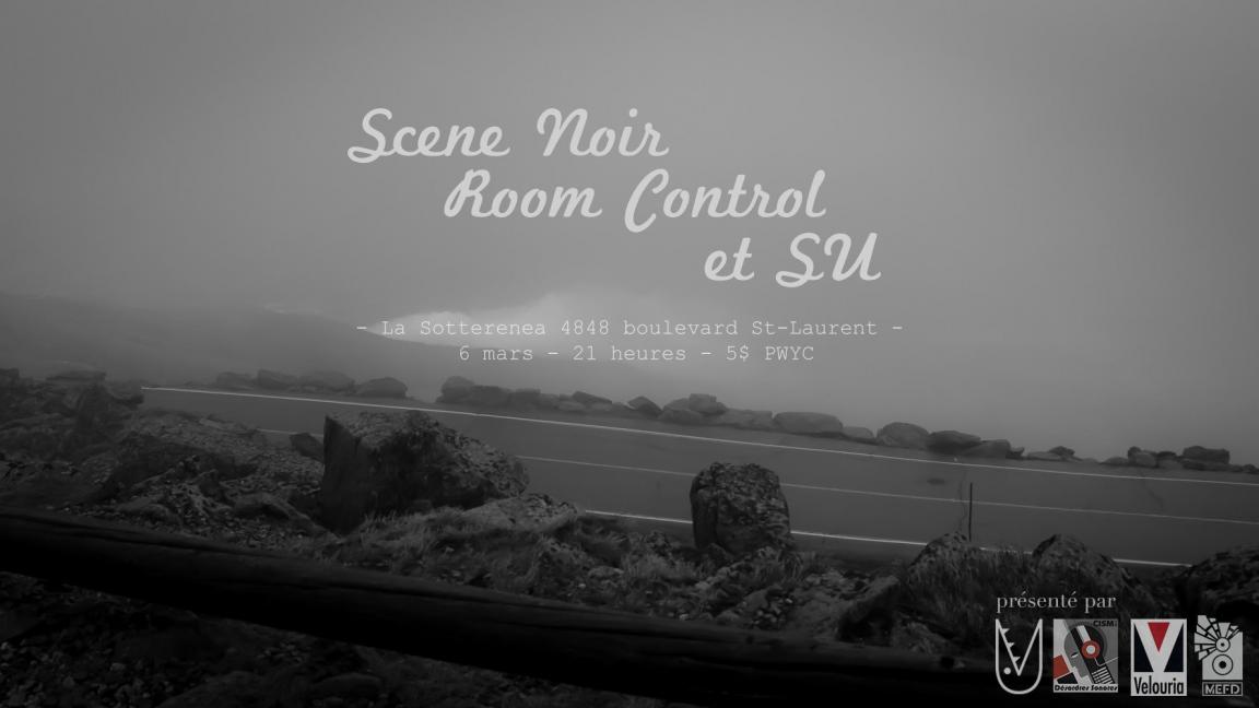 Velouria Records Festival 2: SU, Scene Noir, Room Control