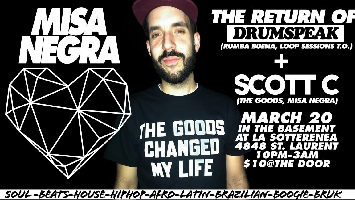 Misa Negra 03/SCOTT C & DRUMSPEAK