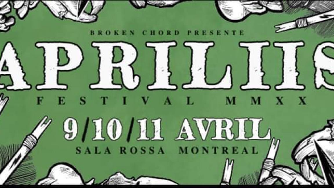 Apriliis Festival MMXX : Passe Trois Jours