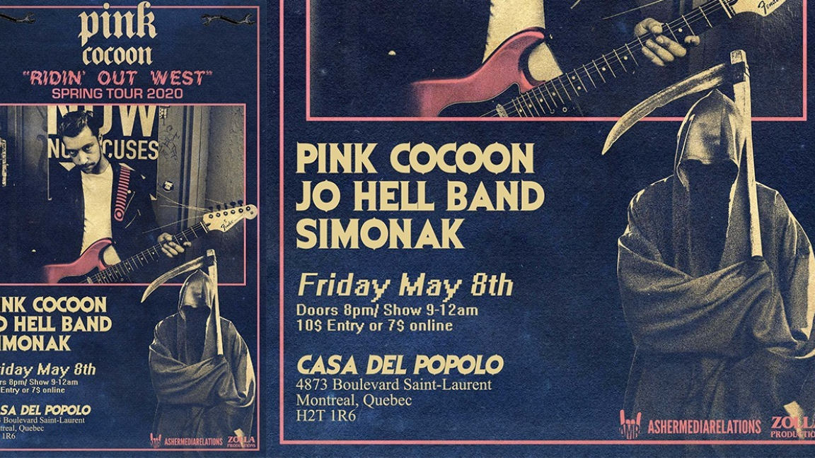 Pink Cocoon, Jo Hell Band, Simonak