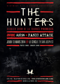 The Hunters, Alie Sin, Panic Attack