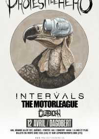 Protest The Hero, Intervals, The Motorleague et The Outborn