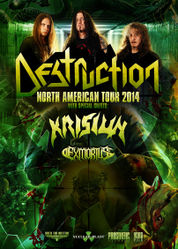 Destruction, Krisiun, Exmortus