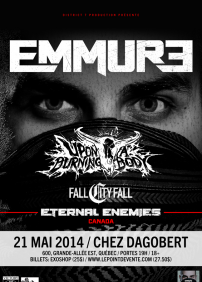 Emmure, Upon A Burning Body, Fall City Fall