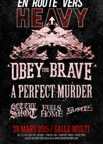 Obey The Brave, A Perfect Murder, Get The Shot