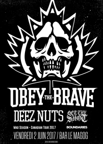 Obey The Brave, Deez Nuts, Get The Shot