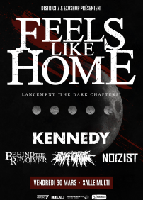 "Feels Like Home, Lancement "" The Dark Chapters"""