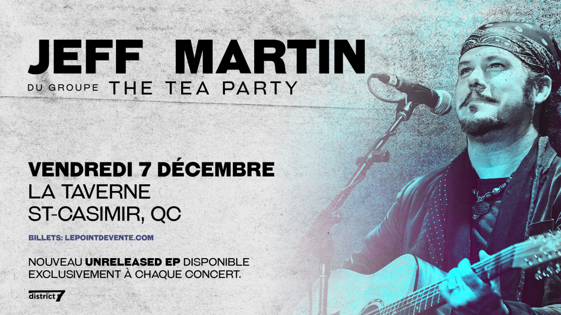 Jeff Martin (de The Tea Party)